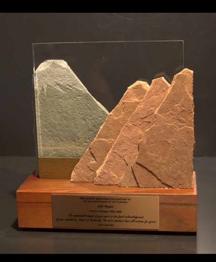 International Award - Mountain Silhouette