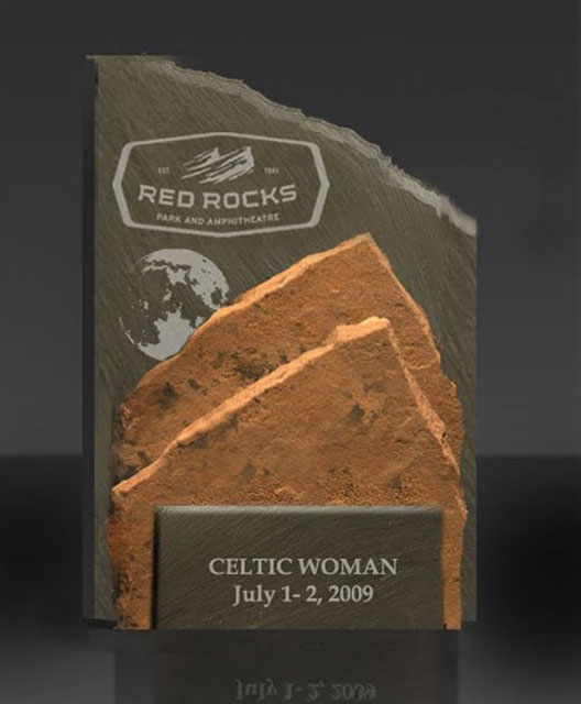 Special Event Awards - A Piece of the Rock