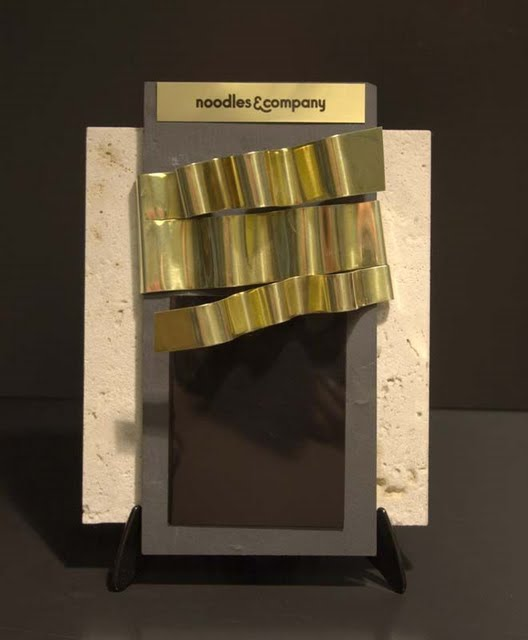 Custom Theme Awards - Ribbon Pasta Plaque