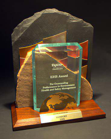 Freestanding Metal & Stone Awards - Earth Matters