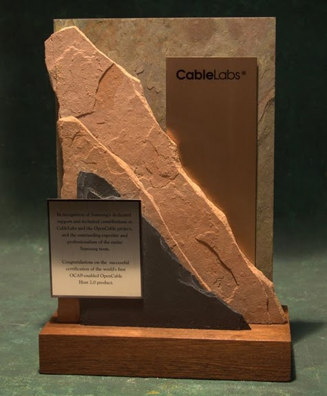 Freestanding Metal & Stone Awards - Steepest Slopes