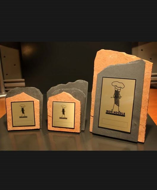 Multi-Level Awards - Rock-Hard Stand-up Plaques
