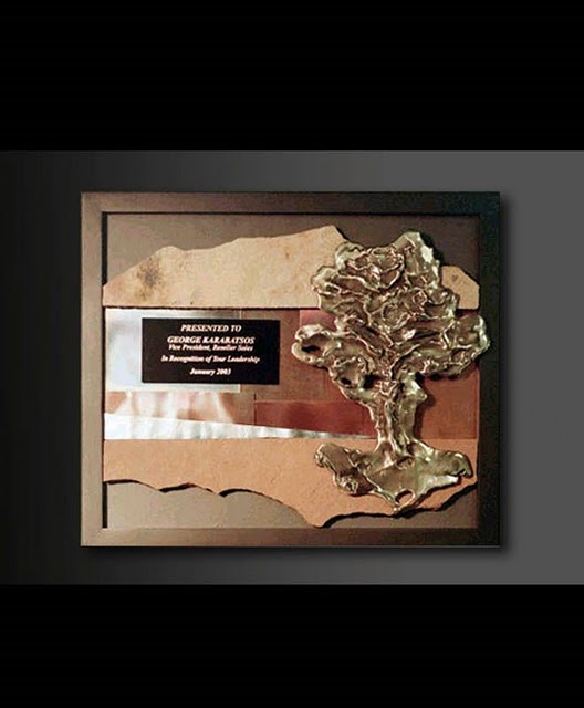 Framed Plaques - Bronze Sculpture Tree Plaque