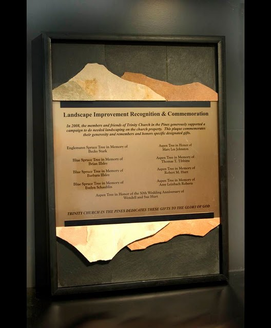 Framed Plaques - Wall Piece with a Purpose