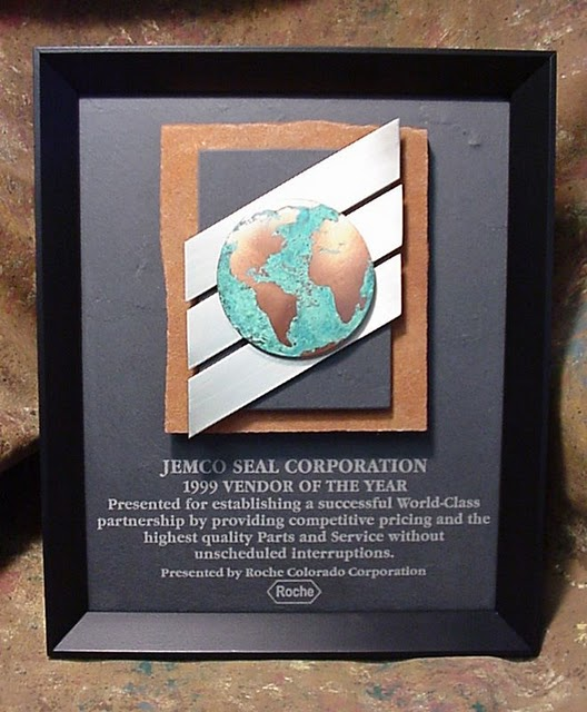 Framed Plaques - World Class Framed Plaque