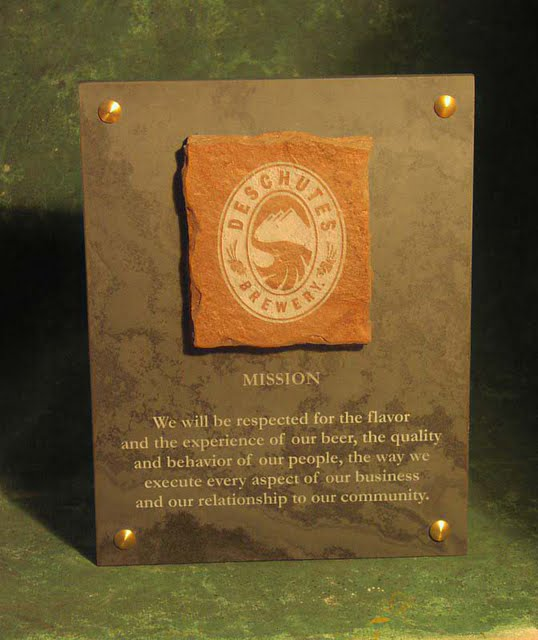 Small Plaques - Mission