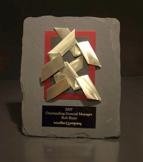 Small Plaques - Modernist Metal