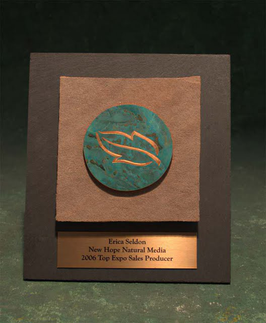 Small Plaques - Natural Patina'd Emblem Plaque