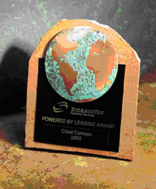Recycled Content Awards - Earth Emblem Small Plaque (RRRM  Platinum)